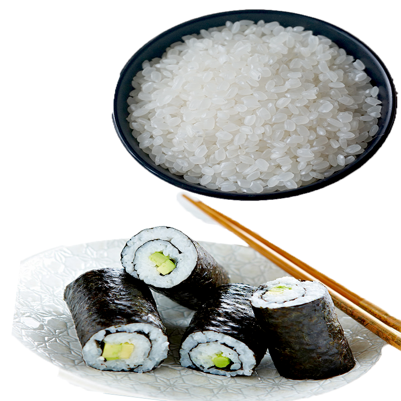 Japanese sushi rice with 5% broken white rice grade AAA