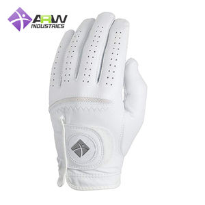 OEM Wholesale custom Logo Leather printing Golf Glove