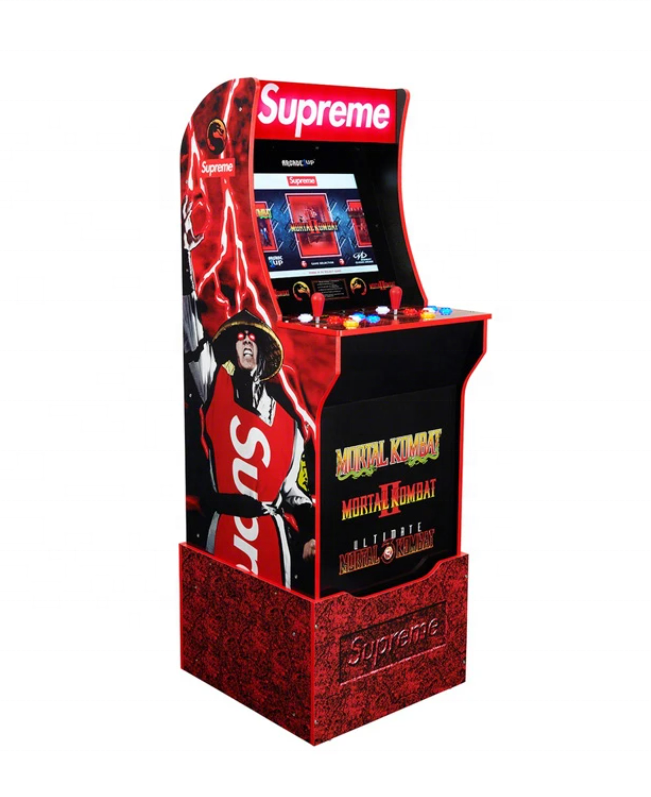 NOW IN STOCK|| NEW Arcade 1Up Mortal Kombat At-Home Arcade System Machine - Red