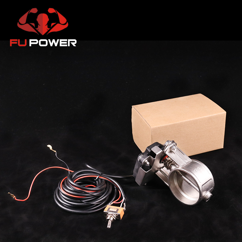 For can am x3 Cutout Valve Motor Remote Control Electric Exhaust Down Pipe BOV Exhaust Muffler electric Valve System