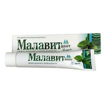 Mint flavor organic oral refreshing toothpaste