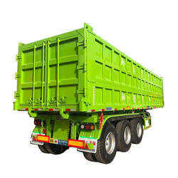 High Quality 45 Ton 60 Ton Truck 3 Axles Dump Semi Trailers ,in Good shape and Good conditions