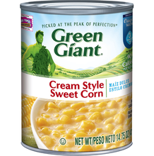 Green Giant Cream Style Sweet Corn 24 Pack