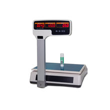 Cheap Price Electronic Weight 15-30Kg Food Weighing Scale With Ticket Printer Cheap Price