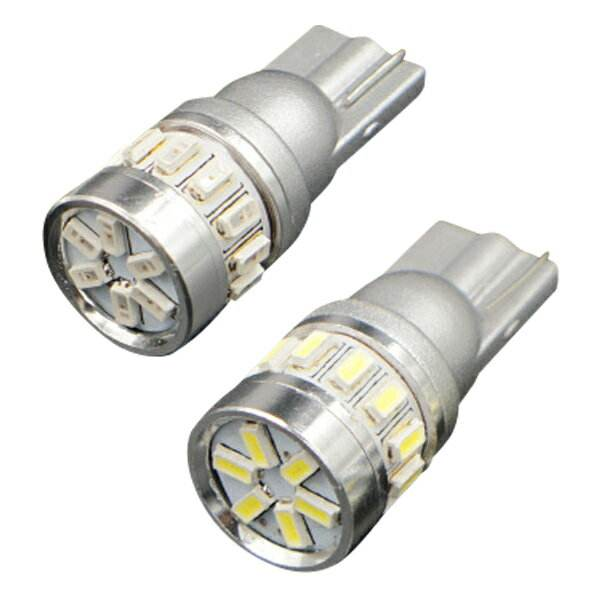2 x 194 168 T10 2835 18 3014 SMD Canbus LED White Lamp Light LICENSE/COURTESY/CARGO LIGHTS