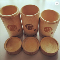 FD - 158 handicrafts bamboo tube for tea storage