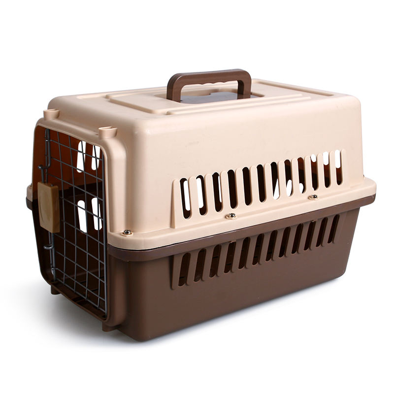 Small Pet Dog Cat Travel Flight Transportadora Para Perros Cage Crates Kennels