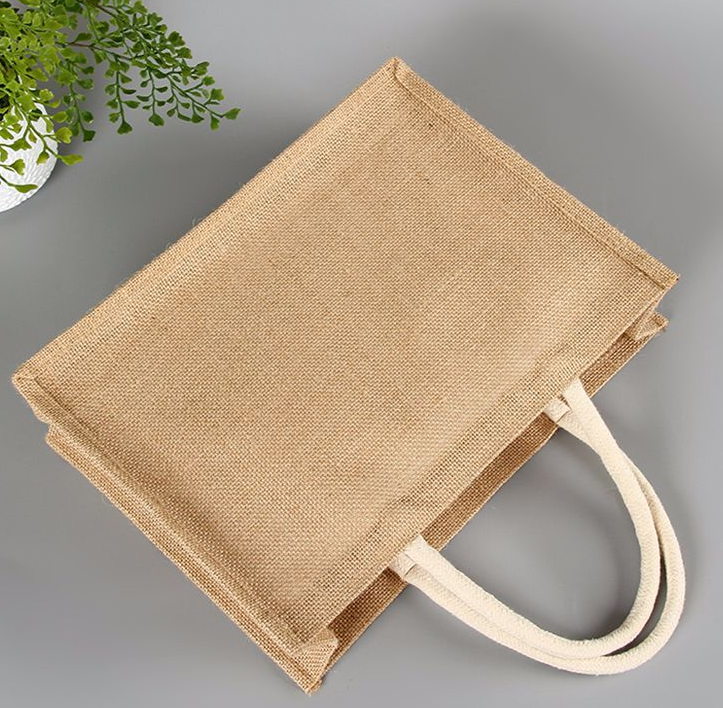 Eco Friendly Jute Shopping bag Made From Natural Jute By Small Women Entrepreneurs In India