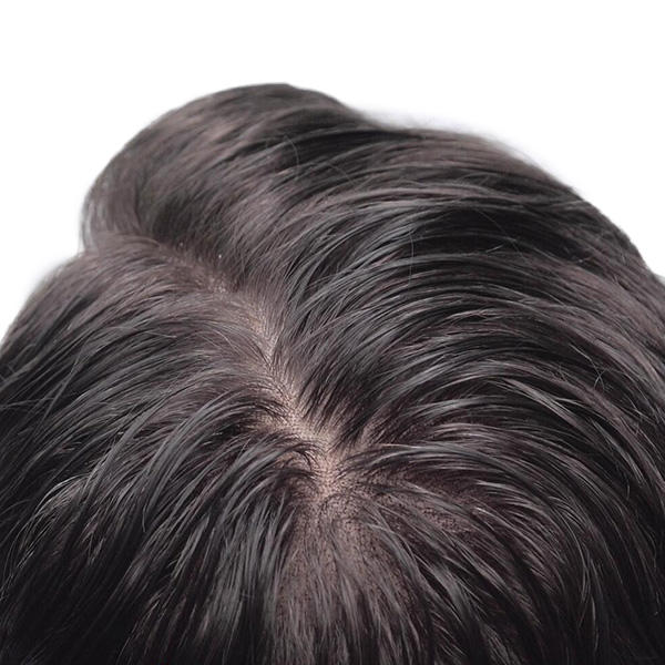 Wonderful French Lace with PU Sides Stock Mens hair system