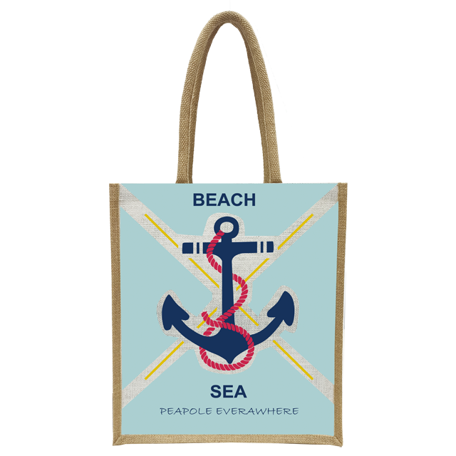 In cheap price tote fashion jute bags with all over printing our certification ISO 9001-2015 ISO 14001-2015 SA 8000-2014