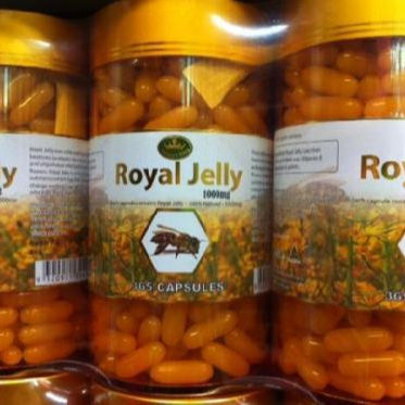 High Quality Healthy Nature's King Royal Jelly 1000mg 365 Capsules