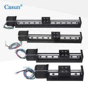 Mini Linear Guide Slide Rail CNC Small Stage Actuator Screw Lead Motion Nema Robot Part Stepper Motor