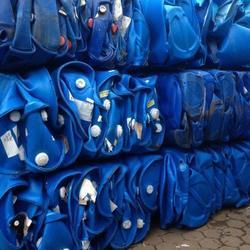 Top Grade HDPE Blue Drum Baled Scrap