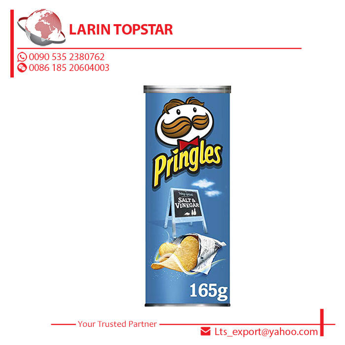 BUY PRINGLES Salt & Vinegar 156GRM Potato Chips