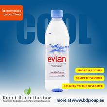 Evian 500ml water