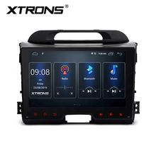 XTRONS 9 inch Android 10.0 radio audio player car multimedia system for Kia sportage with Full RCA Output