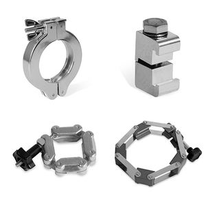 vacuum KF fitting Clamp pipe clamp Chain clamp