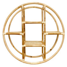 Natural home decoration rattan shelf wall hanging cheap price from Vietnam