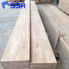 Rubberwood Stair Component for stair tread/ handrail/ scantling- wood stair case