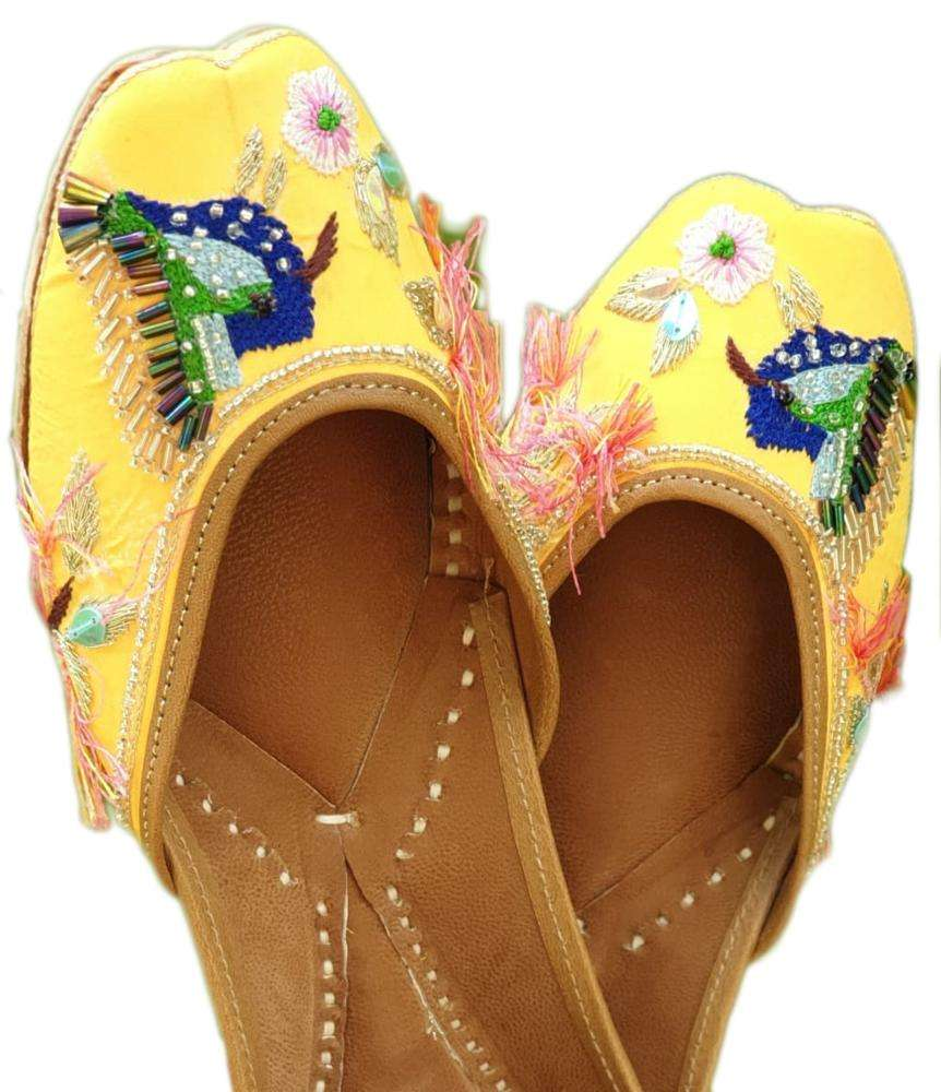 Party Wear Juti Shoes Punjabi Mojari Juti Khussa Slipper India
