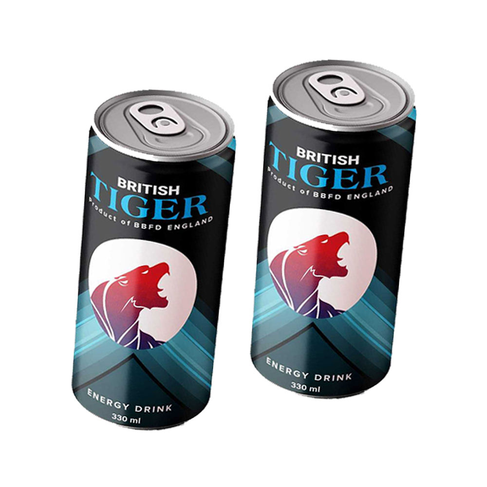 Private Label British Tiger Sport Energy Drink 330ml