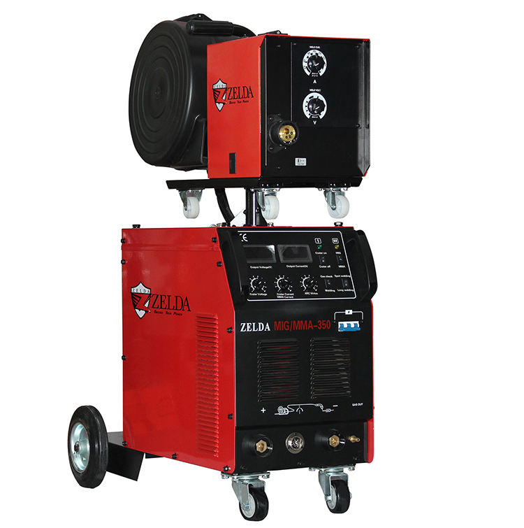 High Performance 2 in 1 Function <span class=keywords><strong>MIG</strong></span>/MMA 350 Welders IGBT <span class=keywords><strong>Inverter</strong></span> <span class=keywords><strong>Mig</strong></span> Welding Machine