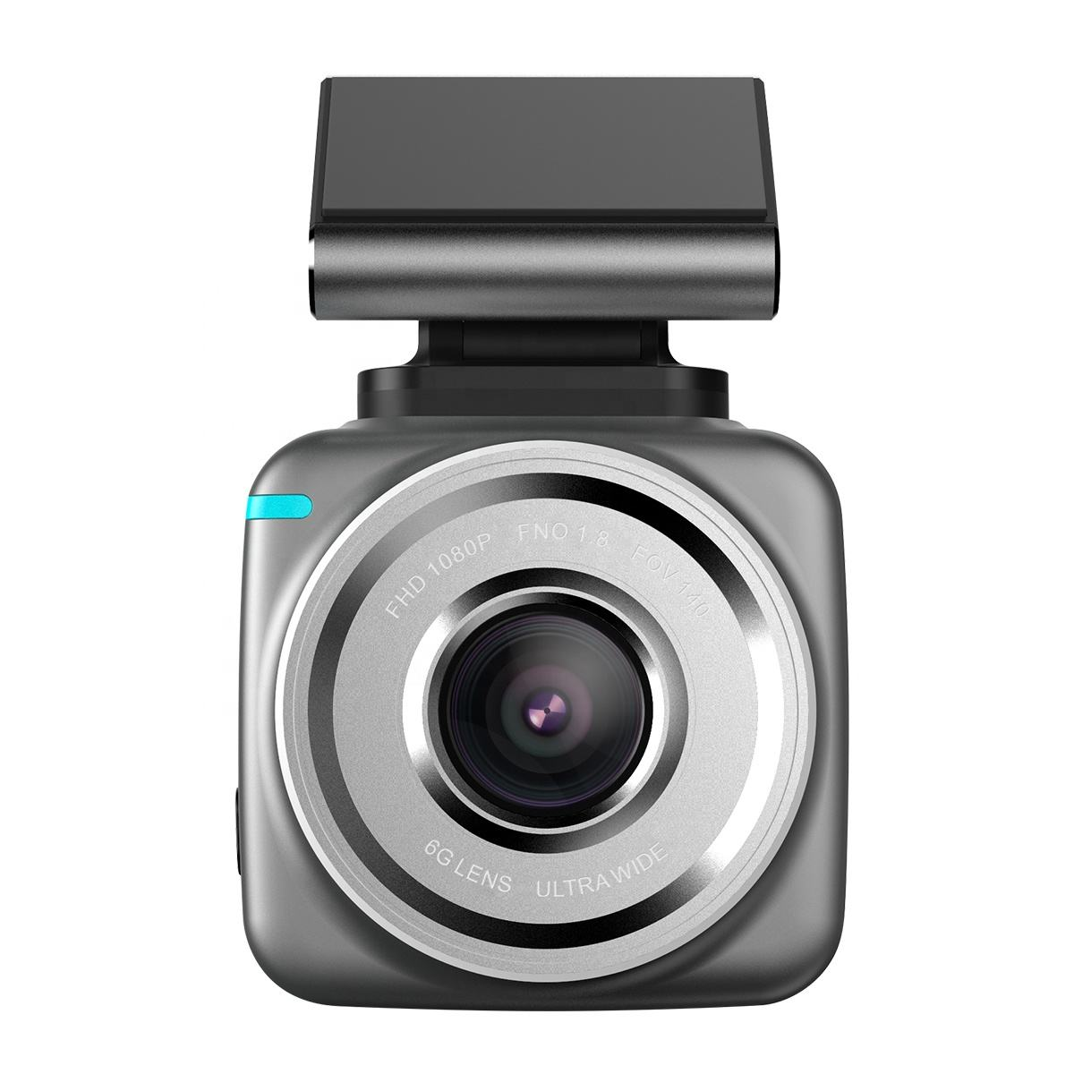 Anytek Q2 2.0 inch dual 6G lens Car Dash Camera with Wifi App+ GPS+Super Night Vision +Loop Recording+Parking Monitoring
