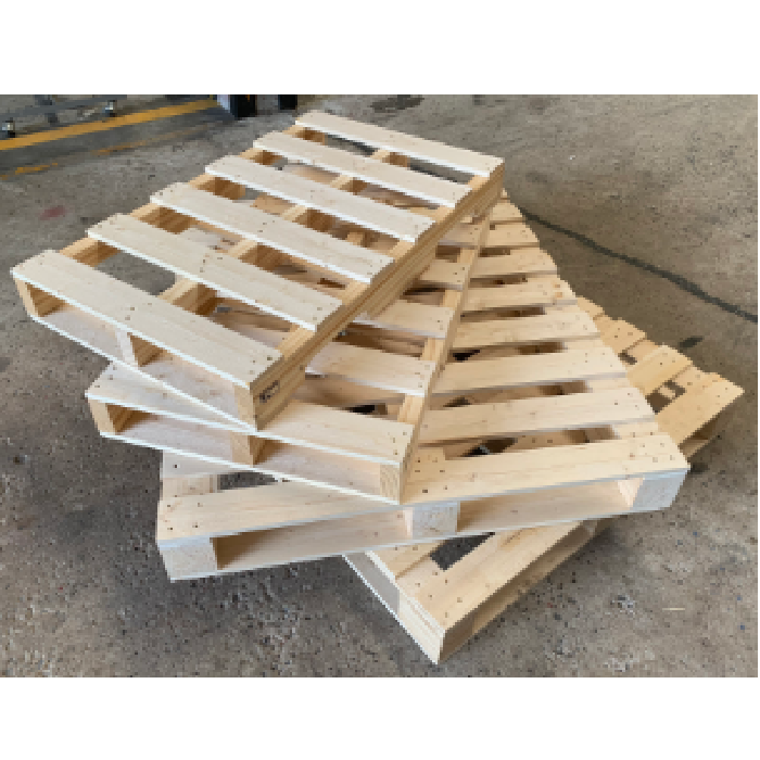Ultimate Quality 10 kg New Condition Wooden Pallet 2 Way R-Cut with High Speed Router type made from Thailand