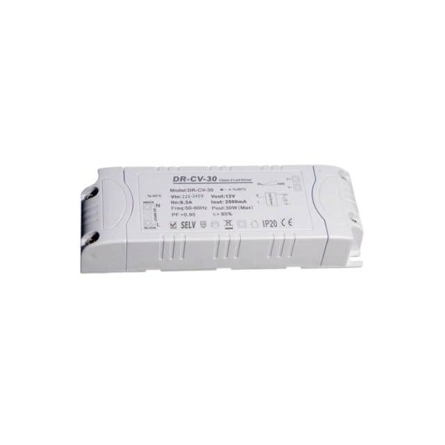 30W Triac Dimmable LED Driver dimmer module dc 12V Power supply