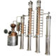 DYE food grade alcohol equipment project fermenter steam electric heating alcohol distillation plant ethanol distillation plant
