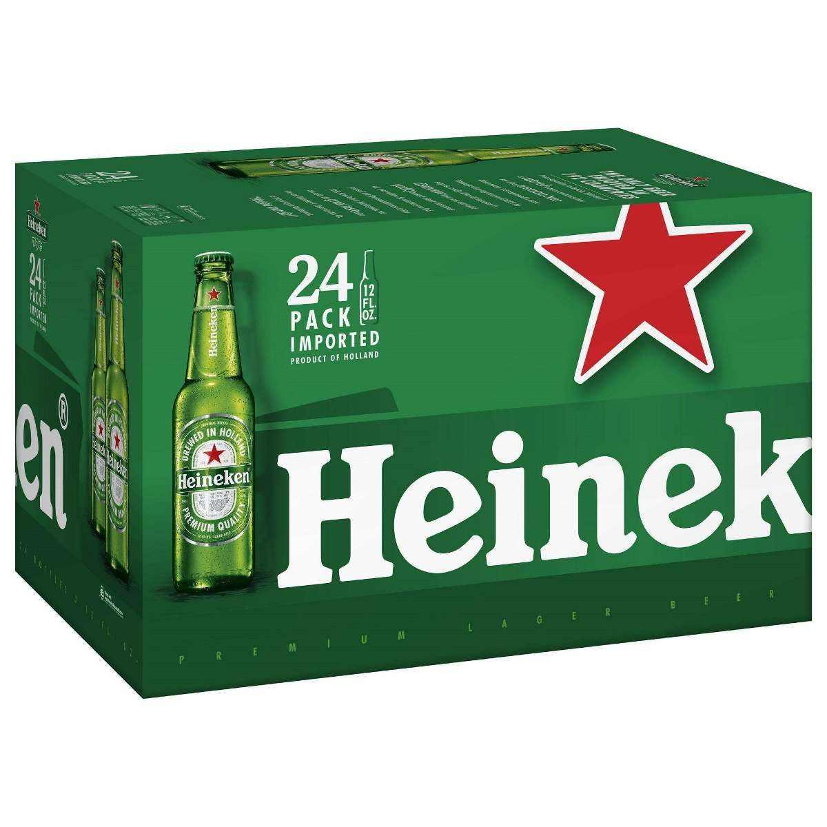 Heineken Pilsener Beer Pack of 24