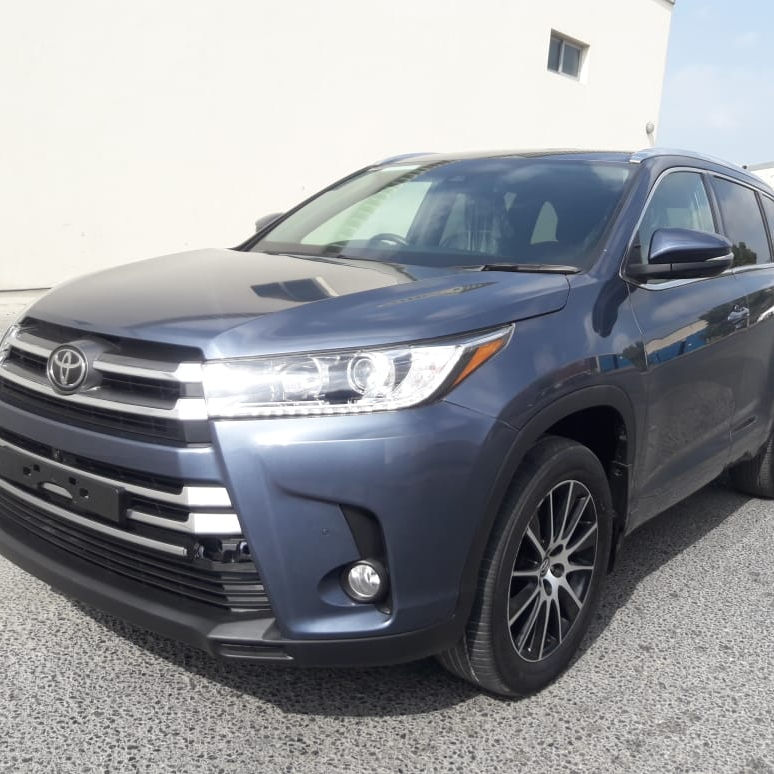 USED /RHD/2018 TO YOTA KLUGER JEEP 3.5 AT BLUE