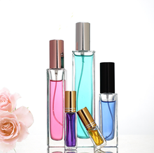 Wholesale new products 10 ml 20ml 30ml square perfume spray bottles empty 50ml refillable perfume glass bottle 100 ml