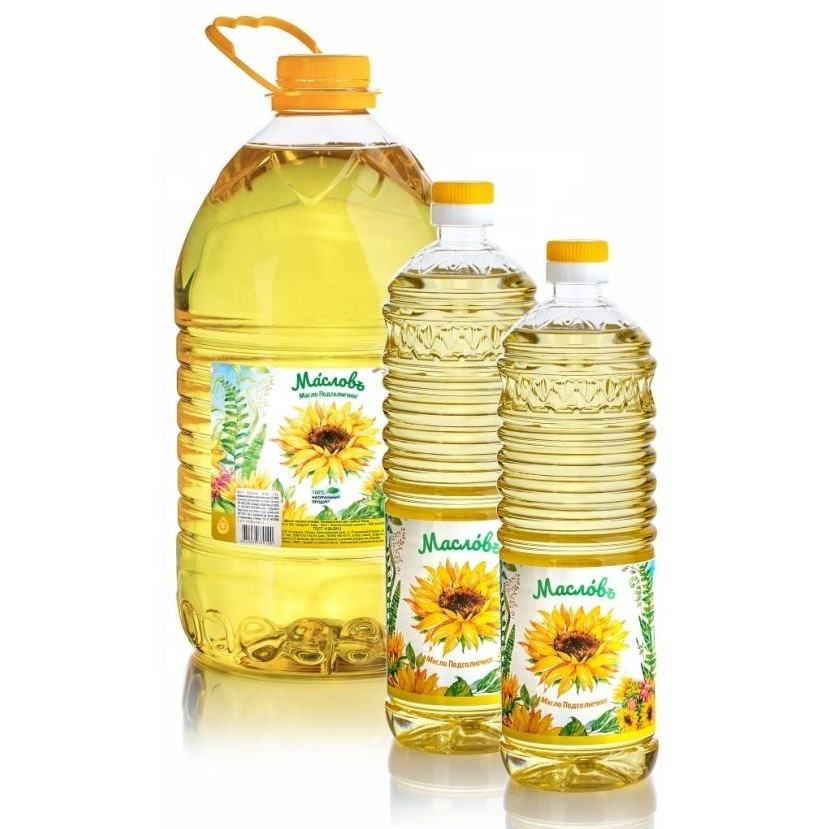 2 L 100% Refined Deodorized Winterized Cooking Sunflower Oil