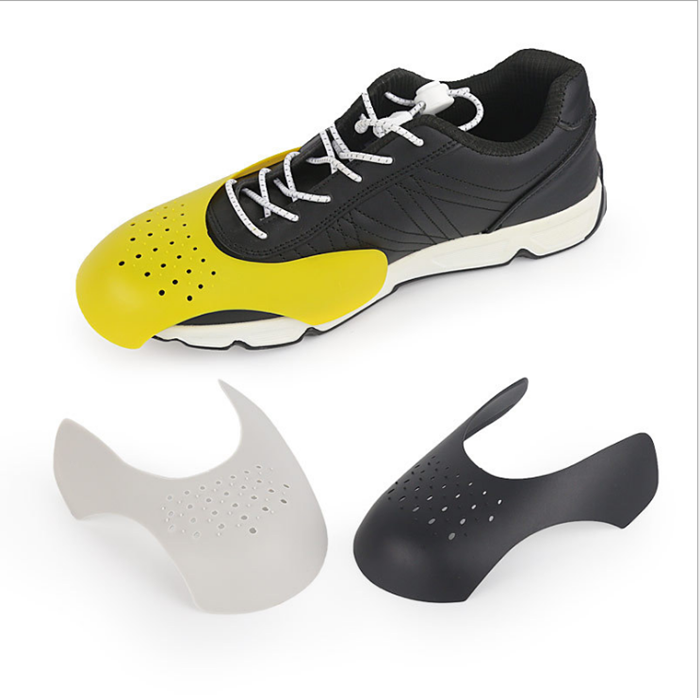 Black Unisex Shoes Shield Sneaker Protector Anti Crease Shoe Toe Protection