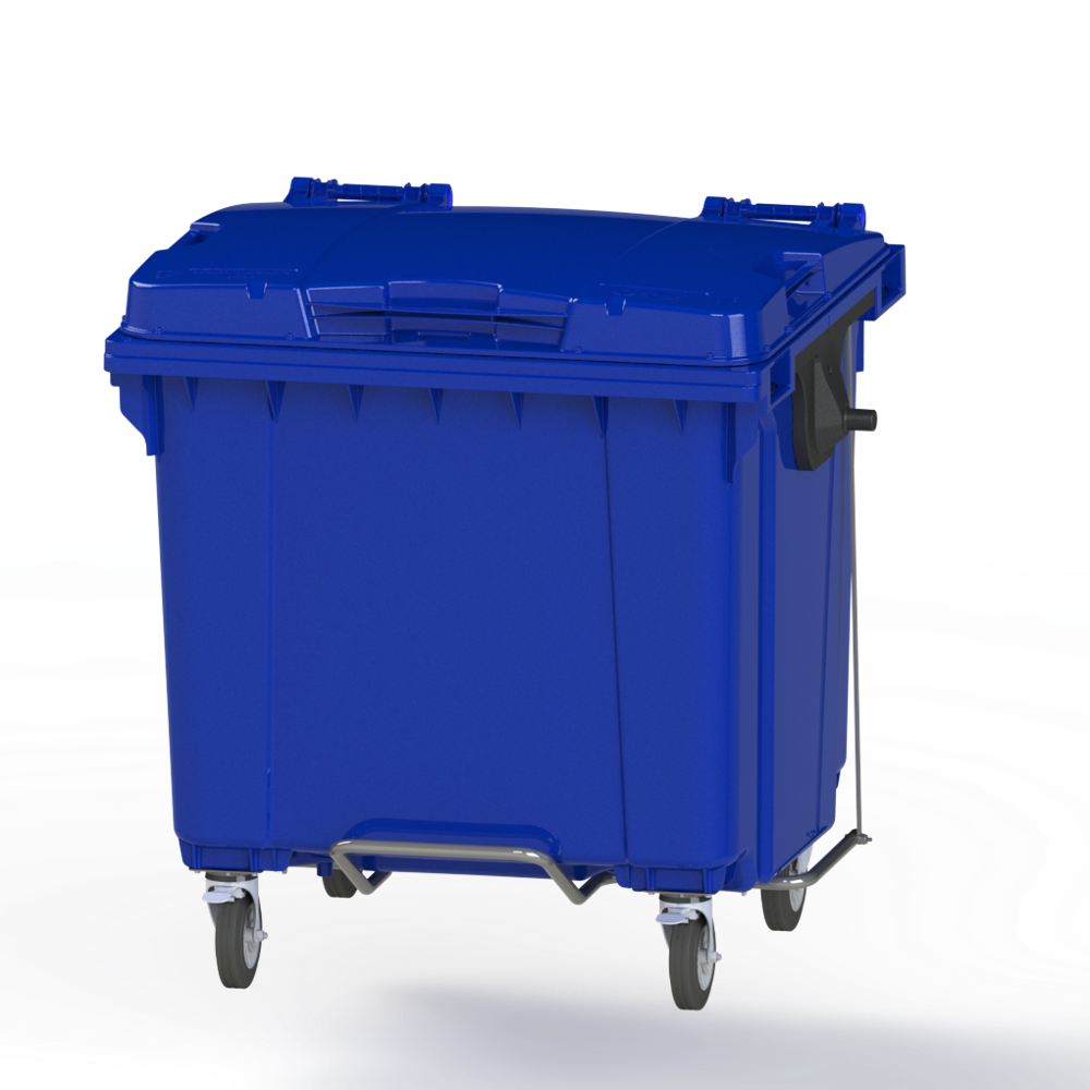 1100 L Waste Container Plastic Garbage Container Trash Trash Bin Plastic Trash Containers Waste Bin Plastic