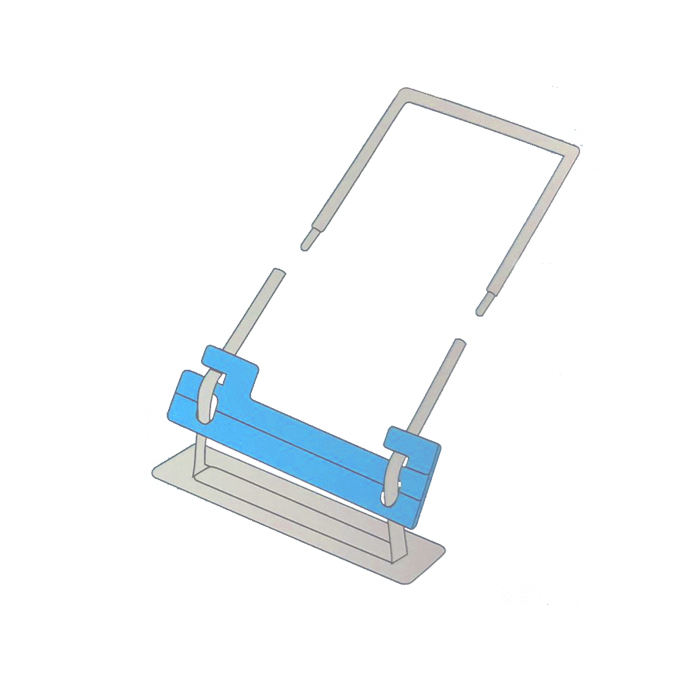 Plastic File Clip Medical Records Folder