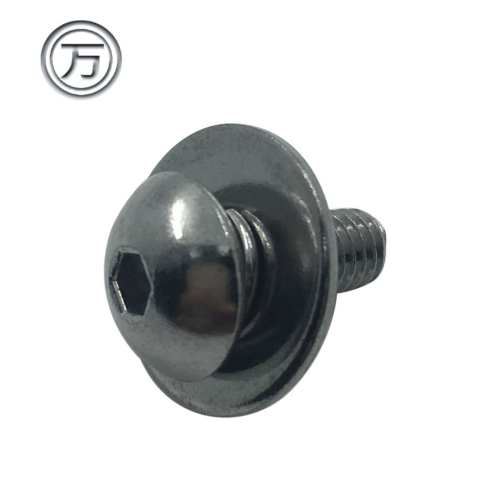 Stainless steel hex head socket cap screw bolt