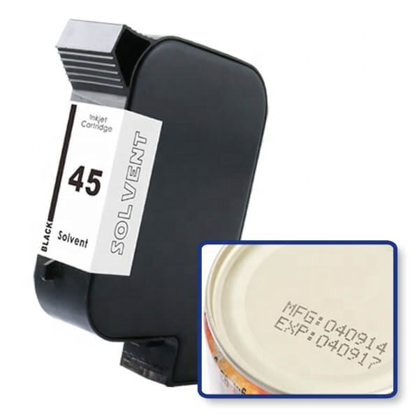 Uniplus 2580 B3F58A Merk Nieuwe Thermische Inkjet Coder Inkjet Cartridge Voor HP45 Tij Printer