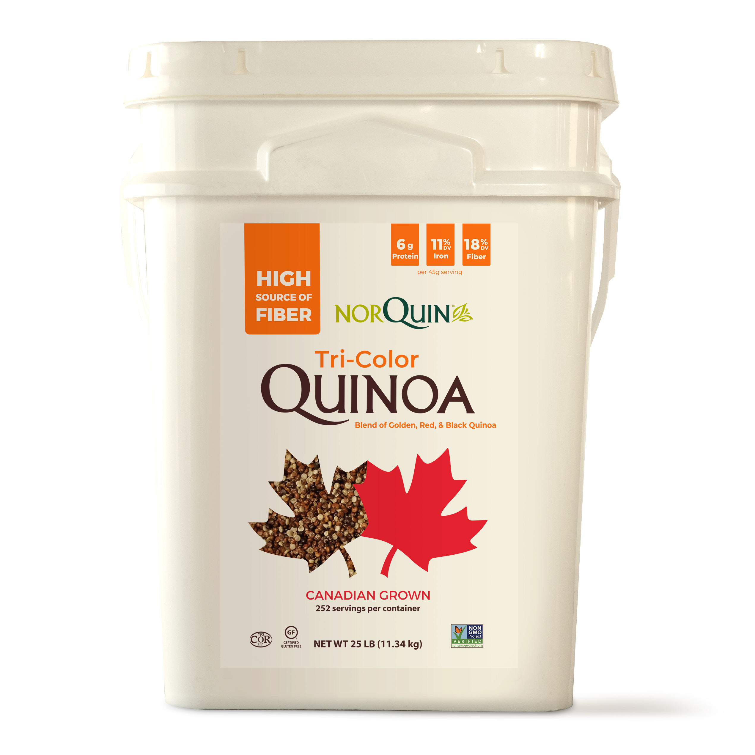 Tri Color Quinoa 25 lbs.