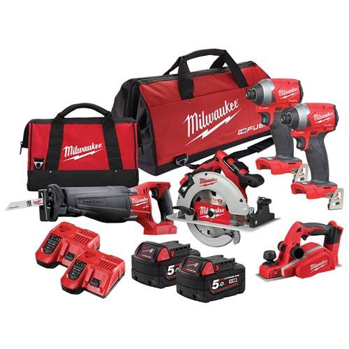 Hot Sales POWER TOOLS For Brand New Milwauk ee 2695-15 M18 18V Cordless Lithium-Ion Combo Tools