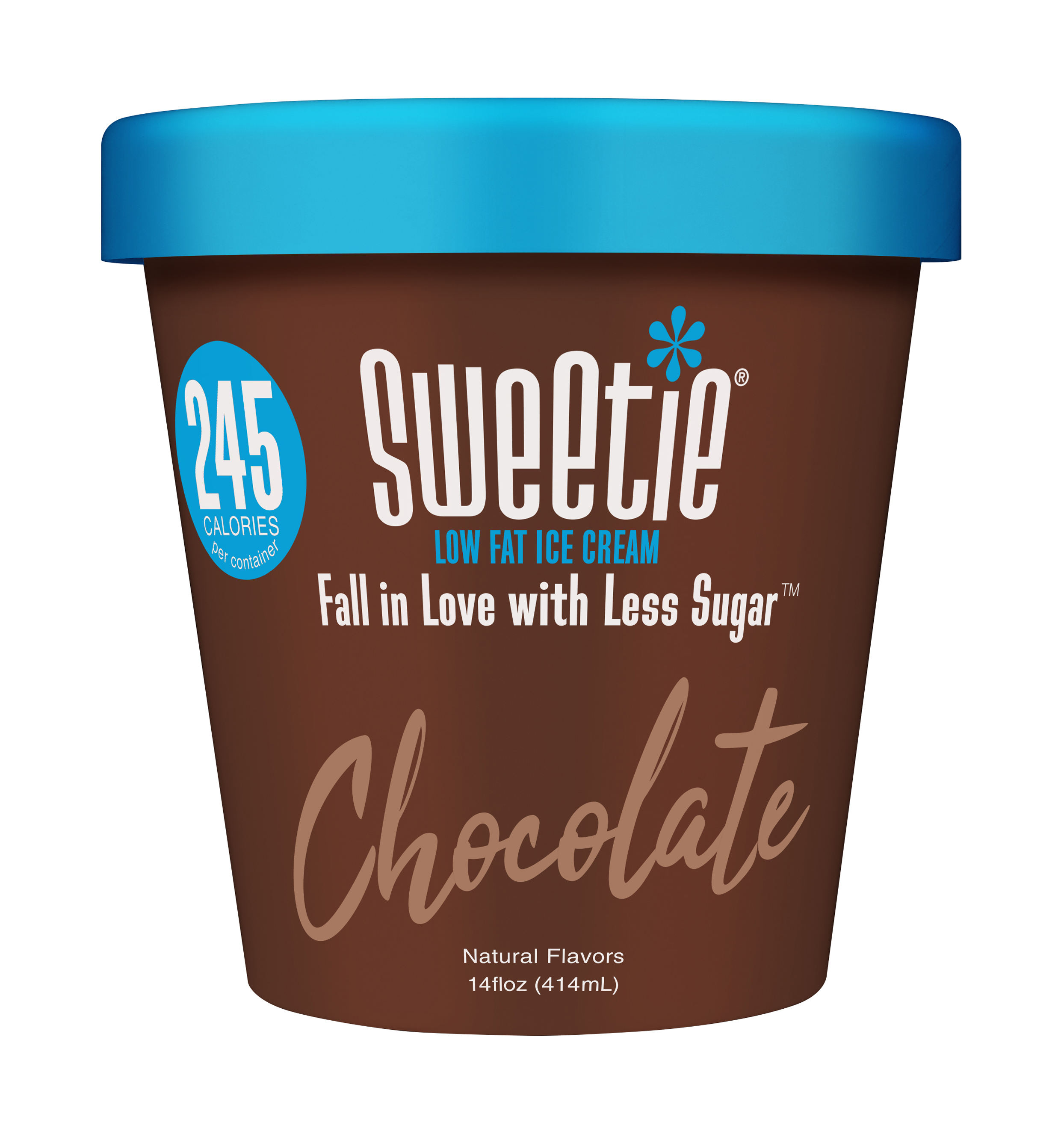 high grade Sweetie Chocolate Lowfat Ice Cream