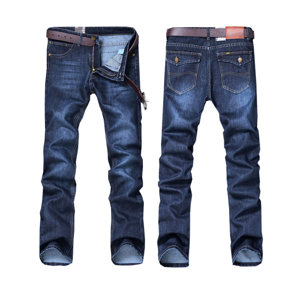 High Quality Wholesale 2020 men cheap denim jeans pants custom Denim Jean Man Plu Size