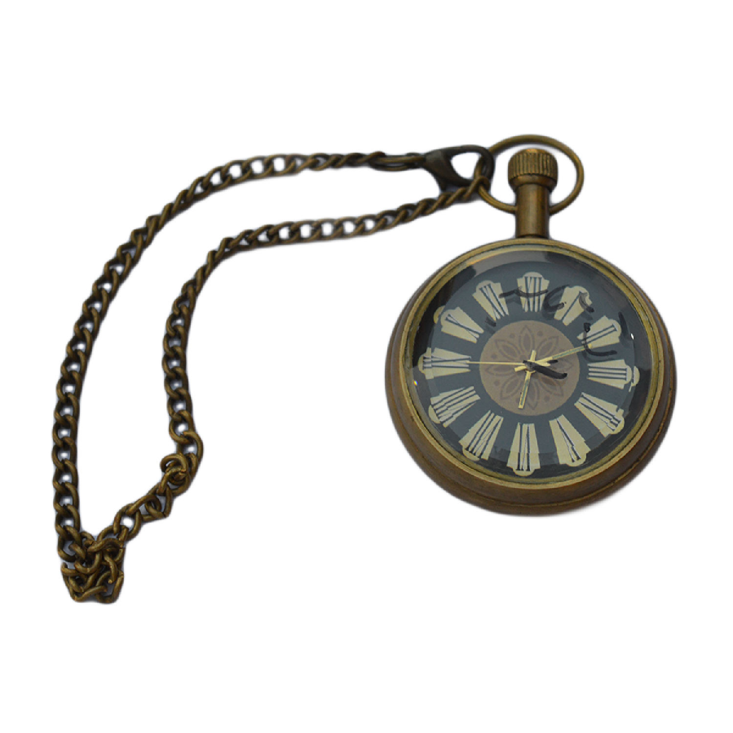 Brass Antique Pocket Watch