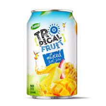 Vietnam OEM Manufacturer Trobico brand 330ml alu short can Mixed fruit juice drink