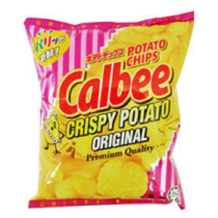 80g Salty Taste and Semi-Soft Texture Crispy Potato Chips Original with Baked Processing Type