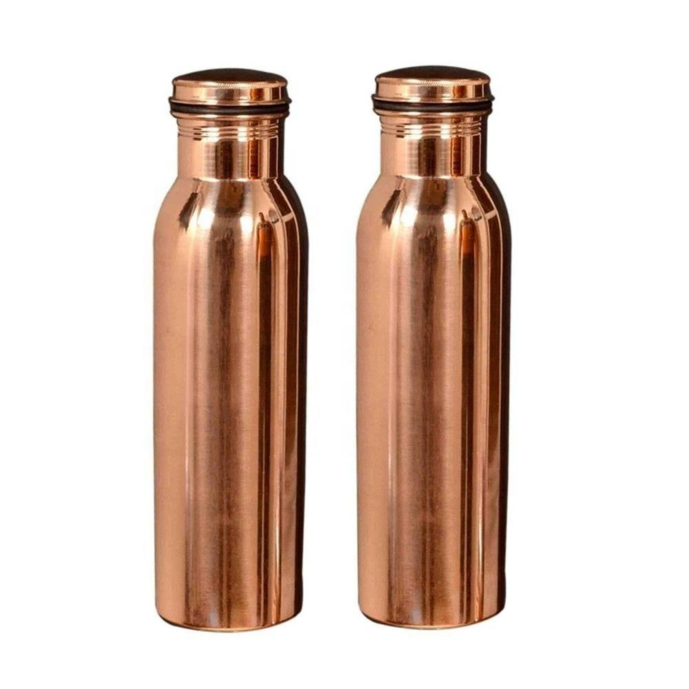 high quality pure copper water bottle