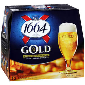 Kronenbourg 1664 Gold Beer