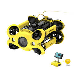 For The New Sealed CHASING M2 P100 ROV 100 Meters Underwater Drone Rescue Robot with 4K UHD Camera