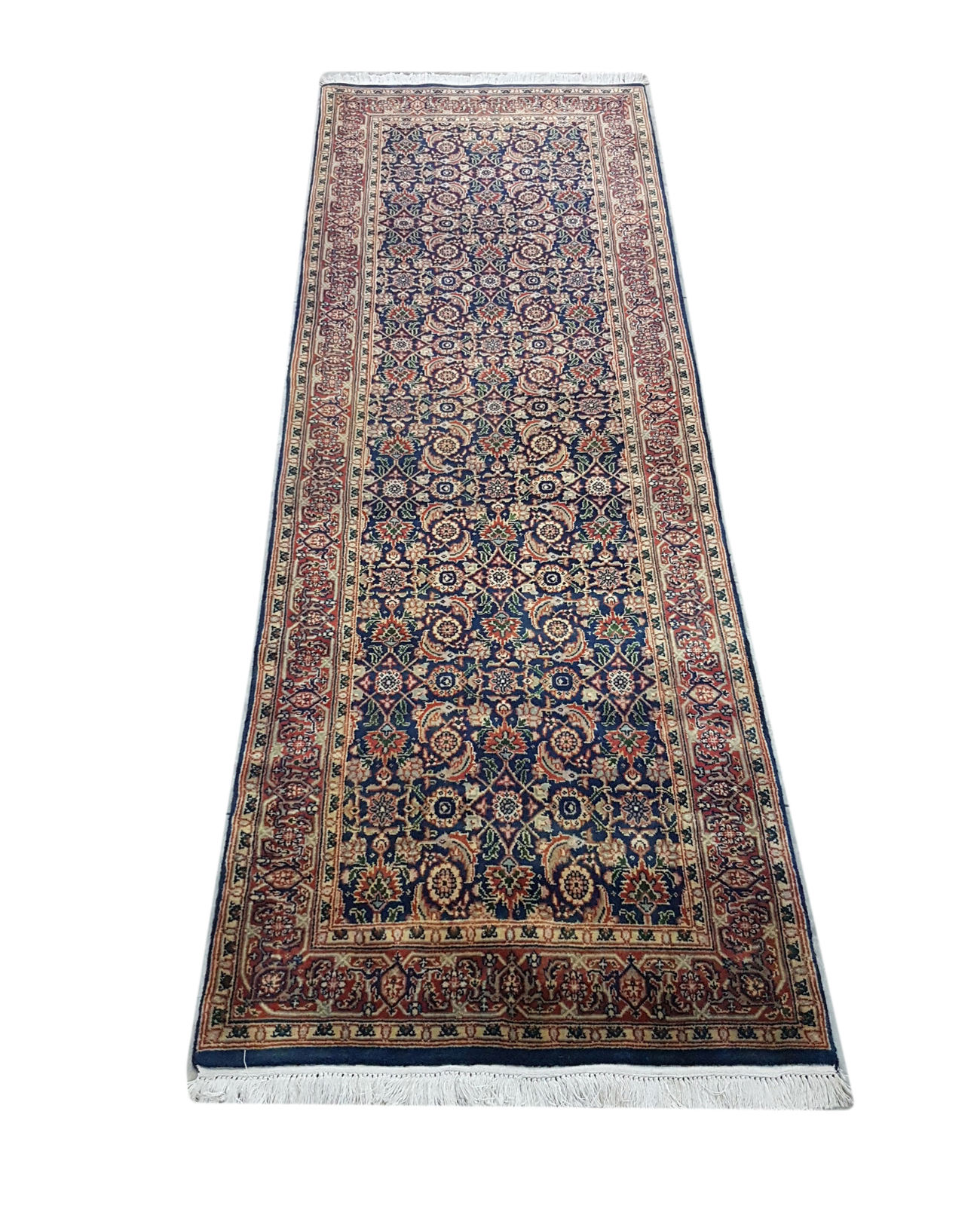 Fast Shipping Classic Design Hand Knotted Indo Persian Carpets Rugs Runners